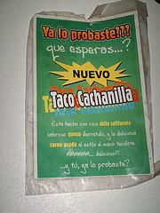 Taco Cachanilla