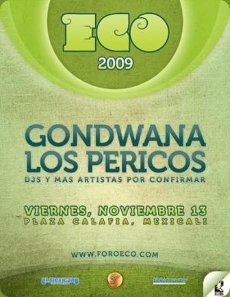 los pericos y gondwana en mexicali