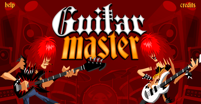 Guitar master, un juego en flash tipo rockband para pc