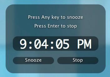 alarma para mac osx