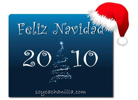 navidad 2010 tarjeta