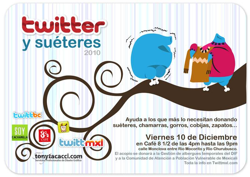 twitter sueteres 2010