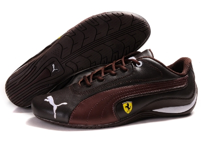 Puma Ferrari 910 Chocolate-Brown