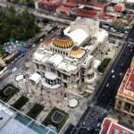 bellas artes miniatura desde la torre latinoamericana