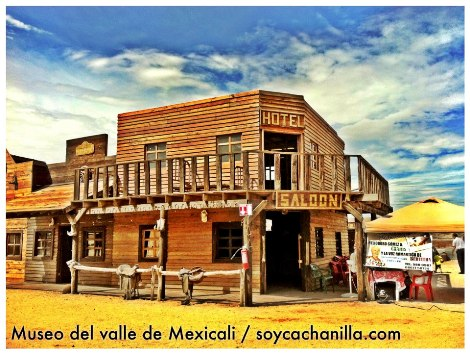 Saloon del museo valle de Mexicali