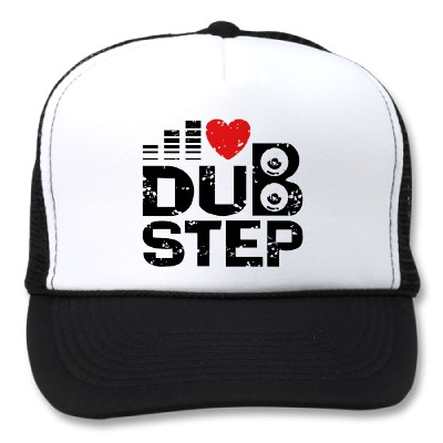 gorra i love dubstep