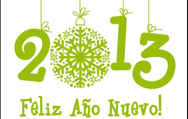 Feliz ano 2013